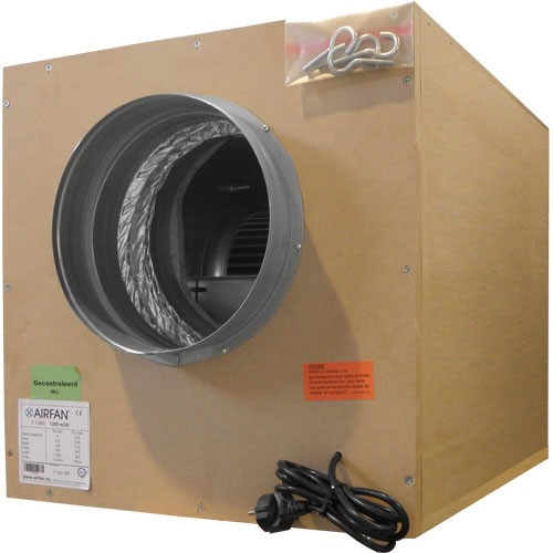 Extractor Softbox ( 2500m3-boca 250 y 2x250 ) incluye coronas