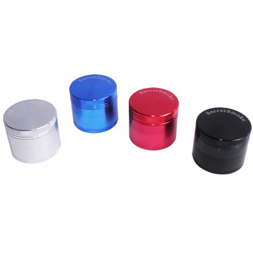 "Grinder Secret Smoke Ř partes"" 40mm Colores"