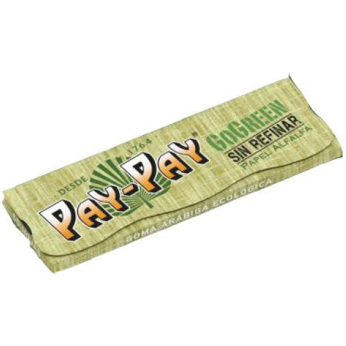 Papel Pay-Pay GoGreen 78mm Verde 25 uds/ caja
